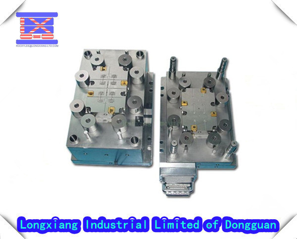 Pvc Electric Parts : Precision injection plastic mould for electrical parts
