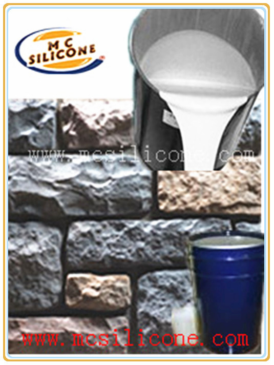Cement Raw Materials 3 : Rtv silicon rubber raw material for concrete mould making
