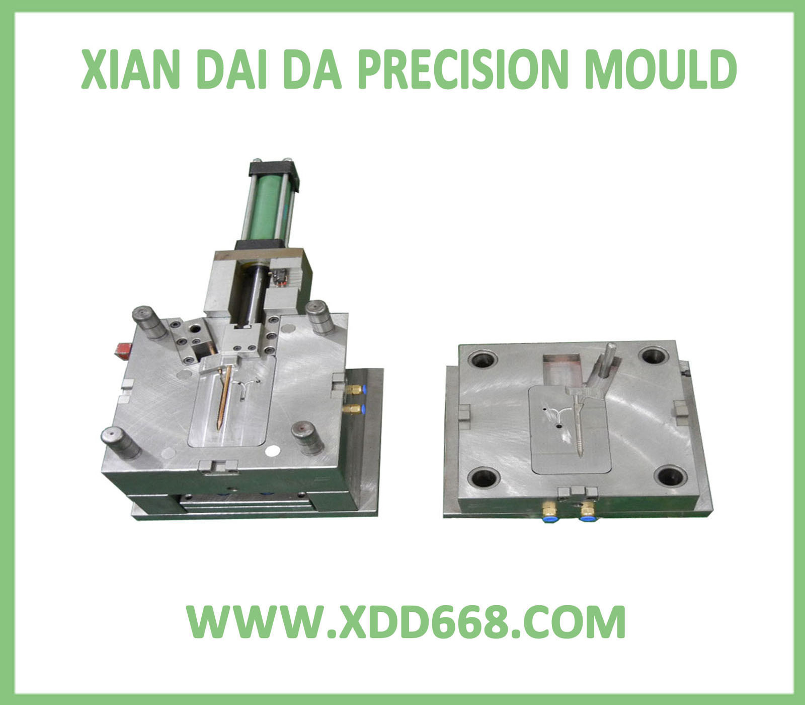 Plastic Injection Mould For Medical Injector Xdd 0030