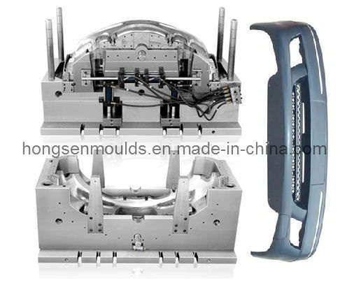 Plastic Injection Auto Bumper Mould