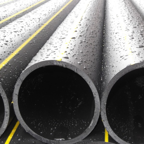 Plastic pipe pe fittings for gas transportation