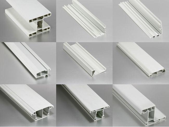 Pvc Window Profiles : Plastic pvc window profiles extruder making machines