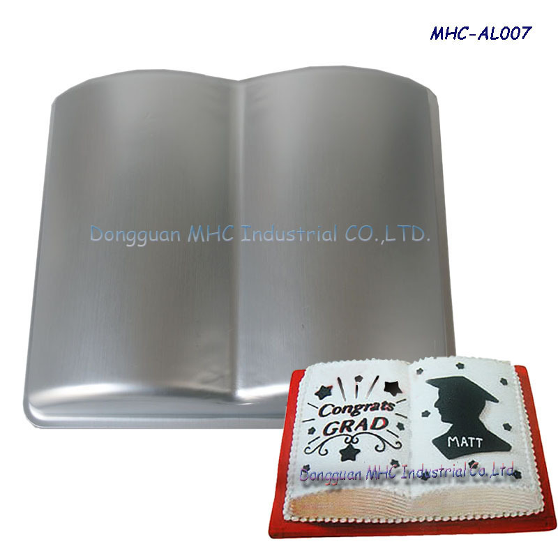 Fondant magic decor aluminium cake baking pan mhc al007 for Al ahram aluminium decoration