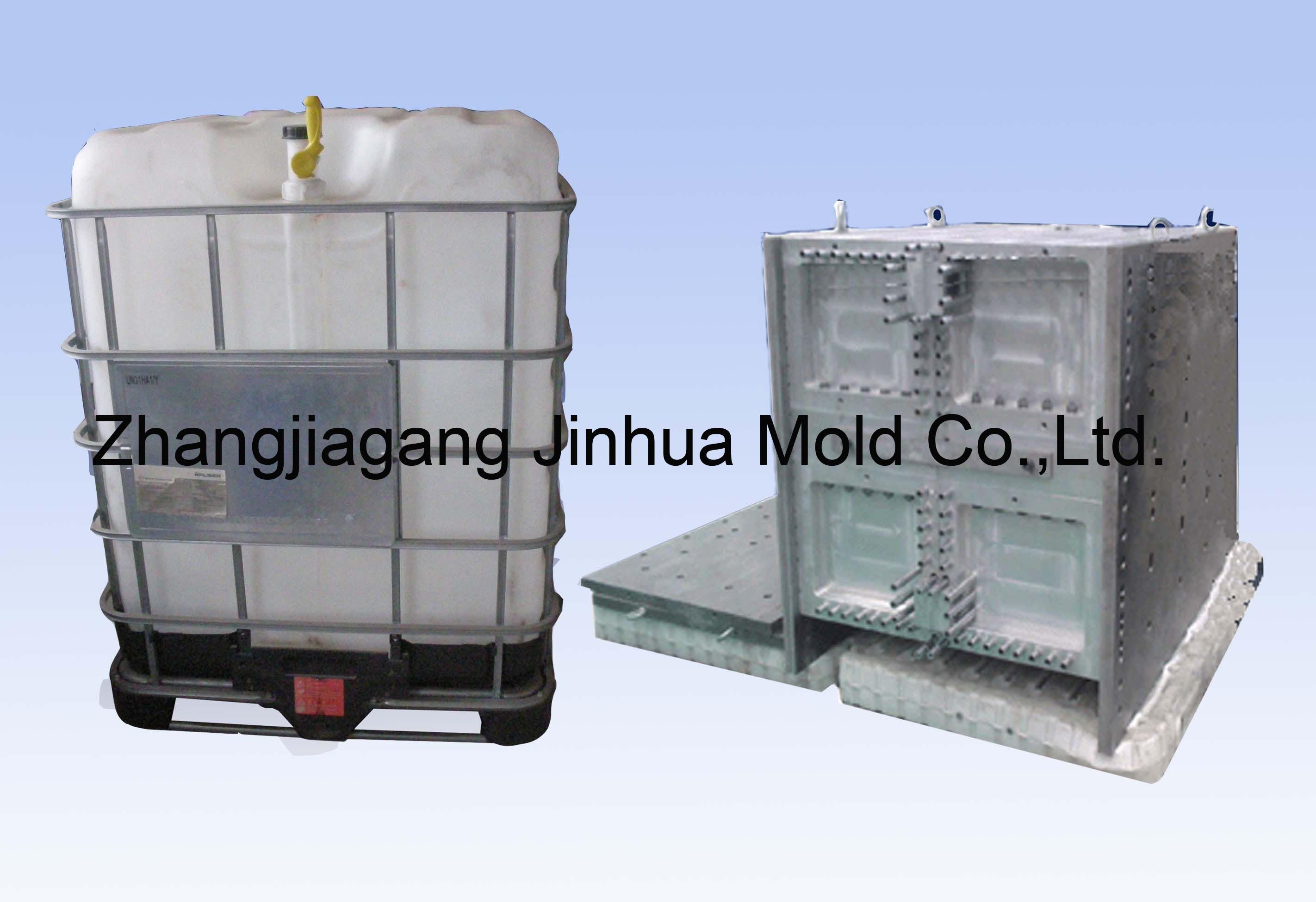 1000l 5000l ibc tank blowing mold plastic mold plastic mould jh 1000l mould products. Black Bedroom Furniture Sets. Home Design Ideas