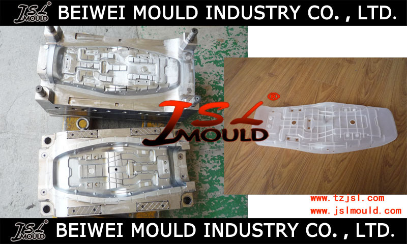 Injection Plastic Motorcycle Seat Frame Mould