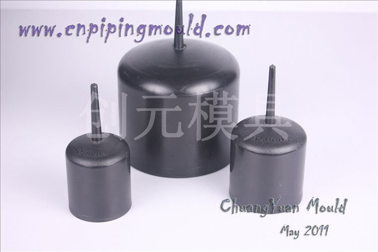 Pe end cap fitting mould products
