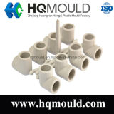 Plastic Injection 90 Degree Elbow Pipe Fitting Mould