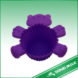 Purple Bear Silicone Cake Mold /Bakeware with FDA