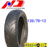 Hot Sale Highway Pattern 120/70-12 Tubeless Motorcycle Tire