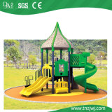 Cheap Natural Outdoor Commercial Kids Playground Plastic Slides
