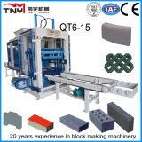 Qt4-15 Full Auto Hydraulic Brick Making Machine From Tny China
