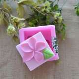 R0020 Nice Flower Square Silicone Molds for Soap, Budding, Jelly