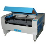 Double Heads Laser Cutting and Engraving Machine for Rubber, Ceramic, Crystal, Jade, Bamboo Materials