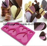 3D Heart Shape Silicone Chocolate Mould