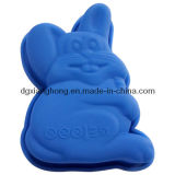 Rabbit-Shaped Silicone Mini Cake Mould (XH-011078)