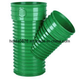 Pipe Plastic Injection Fitting Mould of Skew Tee