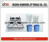 Huangyan 2 Cavities Paint Bucket Mould Injection Moulding