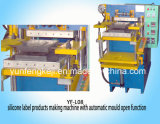 Silicone Label Making Machine with Automatic Mould Open Function