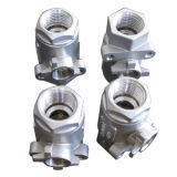 Professional High Quality Stainless Steel Pipe Fitting Casting