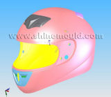 Full-Face Motorcycle Helmet Mould
