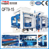 Qt9-15 Automatic Hydraulic Concrete Hollow Block Making Machine/Paver Block Making Machine in Africa