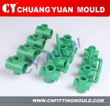PPR Cross Pipe Fitting Mould