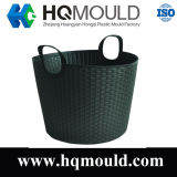 Plastic Basket Injection Mold/ Laundry Basket/Household Mould