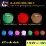 Rotational Moulding Home Furniture PE Material LED Apple Chair