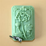 H0226 Flower Decorating Silicone Soap Mold