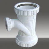 Screwed Spiral Pipe Tee Fitting Mould