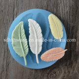 Silicone Fondant Molds Leaf Feather Shape for Cake Decoration F0807