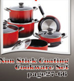 Non-Stick Coating Aluminum Cookware