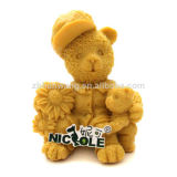 3D Bear Silicone Soap Mould Nicole Animal Candle Mold R0590