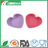 Hot Sale Kitchenware Heart Shape Silicone Cake Mold