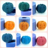 Handmade Silicone Candle Mold for Halloween Pumpkin DIY Candle Moulds