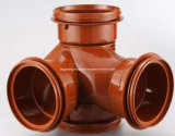 PVC Pipe Fitting 110mm Cross Mould (JZ-P-C-03-019-A)