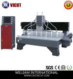 Multi-Heads Flat Woodworking CNC Machinery Engraving Machines