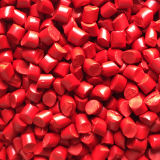 Fiber Extrusion Injection Moulding Light Red Color Masterbatch