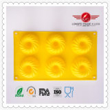 2015 High Grade Flexible Silicone Bakeware Moulds