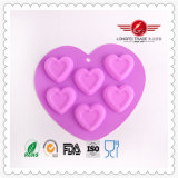 Wholesale Heart Silicone Cake Mould Baking Moulds