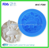 3D Handmade Liquid Soap Mould/Cake Decorating Silicone Mold