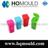 Plastic Office Use Mini Dustbin Injection Mould