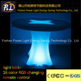 Rotational Moulding PE Material LED Lighted Table