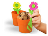 Lovely LFGB Cake Mold, Flower Pot Cake Molds
