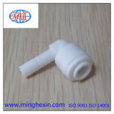 White Plastic Injection Fitting with ISO SGS