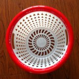 Red Plastic Store Basket Mould (J400156)