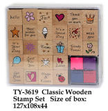 Funny Classic Wooden Stamp Toy