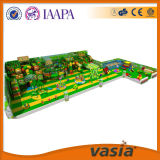 Amusement Park Design, Wooden Indoor Soft Play Equipment