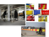 The Shuttle Rotomolding Machine for Making Different Kinds of Traffic Barrier