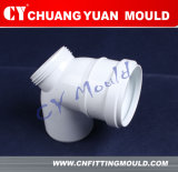 Plastic Elbow 90 Degree with Door Pipe Fitting Moulding